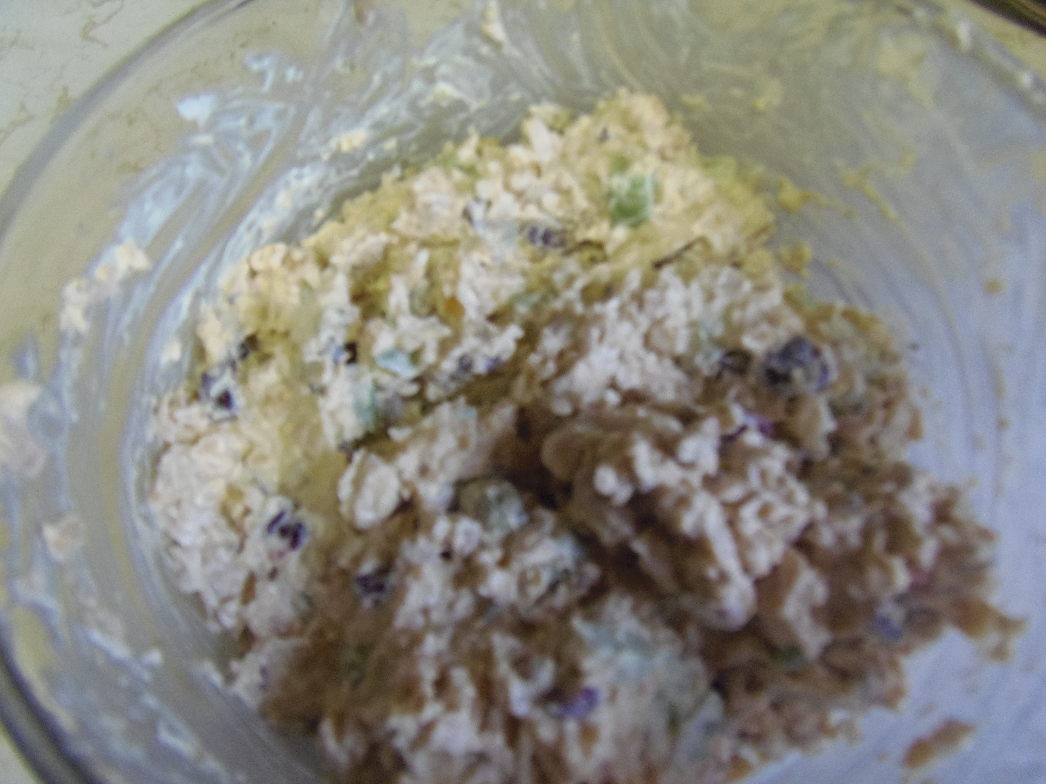 jamaican Divas Meatless Monday -finished chickpea salad